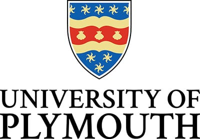 The logo for the University of Plymouth
