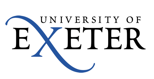 The logo for the University of Exeter
